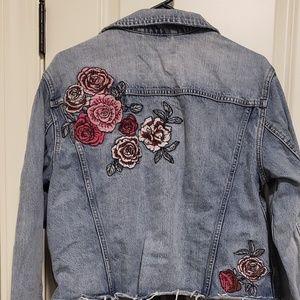 Garage brand jean jacket